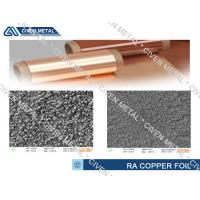 Cheap Flexible Copper Clad Laminate RA Copper Foil Thickness 10~70µm wholesale
