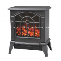 Cheap Modern Duraflame European Electric Fireplace Stove Real Wood Fire Effect wholesale