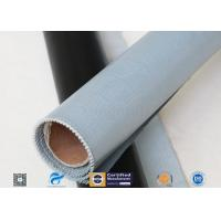 Cheap 530g E-Glass Silicone Coated Fiberglass Cloth For Electrical Insulation Cover wholesale