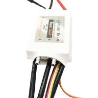 Cheap 16S Programmable Brushless ESC Large Rc Boat 180A Marine Vinyl Material White Color wholesale