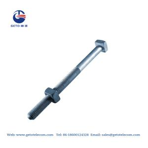 Cheap HDG MB Machine ISO 9001 Square Head Nuts And Bolts wholesale