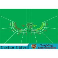 Cheap Polyester Fabric Casino Table Layout Can Be Folded Convenient To Carry wholesale