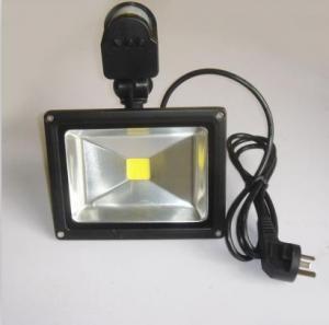 Cheap 30w LED PIR sensor LED flood light for outdoor wholesale