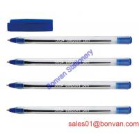 Cheap very cheap promotional ball pen / colorful click plastic ball pen for school use wholesale