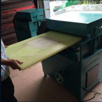 Cheap 1300mm plastic planing thicknesser planer machine for PP, PE, nylon,Seesaw wholesale