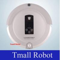 China Robot Vacuum Cleaner With Two Side Brushes LED Touch Screen Schedule Virtual Wall on sale