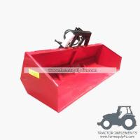 Cheap 7HTB-Hydraulic tipping link box metal transport box - 7ft wholesale