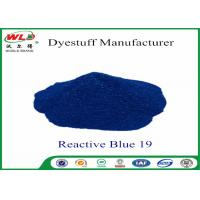 Cheap High Stability Fabric Reactive Dyes Reactive Brill Blue KN-R C I Blue 19 wholesale