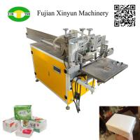 Cheap Semi automtatic napkin paper and facial tissue plastic bags packing machine wholesale