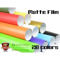 Matte Car Wraps Vinyl Film - Matte Car Wrapping Film 20 Colors for Choose