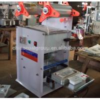 Cheap manual ,semi-automatic ,automatiic plastic Cup Sealing Machine For dry food wholesale
