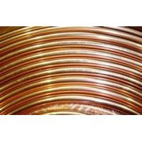 Buy cheap 6.35mm outer diameter copper coated single wall steel tube, seamless steel tube from wholesalers