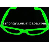 Buy cheap Fluorescence Glasses Glow In The Dark Noctilucence Glasses With PC Clear from wholesalers