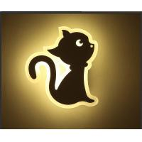 Cheap CAT Acrylic LED indoor wall lighting /Interior led wall lamp for kids room wholesale