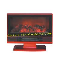 Cheap Square TV Model Fireplace Heater 1800w With Adjustable Room Thermostat wholesale