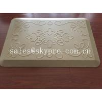 Cheap Anti-fatigue non-slip kitchen polyurethane PU mat , assorted colors and textures wholesale