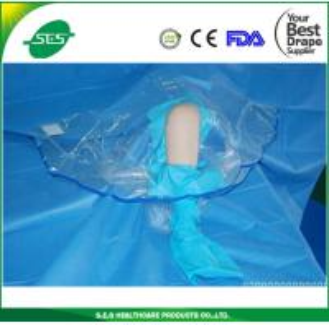 Buy cheap Customised medline Sterile knee arthroscopy drape sheets from wholesalers