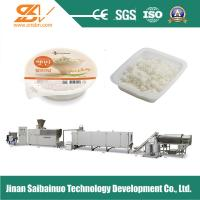China Frequency Speed Nutritional Rice Making Machine Plant Self - Cleaning Function on sale