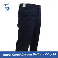 Cheap Adjustable Waistband Work Uniform Pants With Dark Navy / Law Enforcement Duty Pants for sale