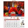 Buy cheap PLASTIC LENTICULAR 3D Effect Pocket Calendar PP PET Lenticular Sheet Printing from wholesalers