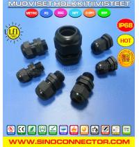 Cheap Muoviset (polyamidi / metalliset) holkkitiivisteet tai Holkkitiiviste muovi (metalli) wholesale
