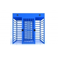 Cheap 38mm Tube Stoving 0.2S SS304 Full Height Barrier Gate wholesale
