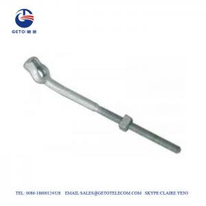 Cheap 11.5KN Forged Angle TEB Galvanized Bolts And Nuts wholesale