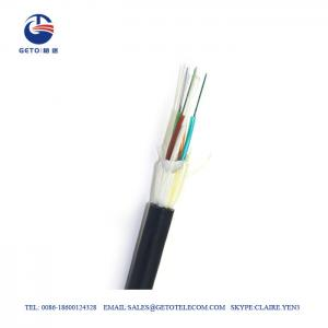 Cheap SM ADSS Metallic Wire G657A 12 Fiber Optic Cable wholesale