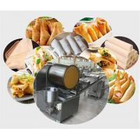 China High quality Automatic spring rolls/Samsoa pastry sheet forming machine,low price egg wrapper making machine on sale