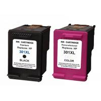 Cheap Multicolor Remanufactured Ink Cartridges , Hp301XL Refill With 20ml / 6ml wholesale