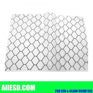 Cheap Transaprent 0.5mm thickiness conductive PVC grid sheet wholesale