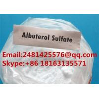Buy cheap Raw Pharmaceutical Grade Albuterol Sulfate Powder for Bronchial Asthma CAS 51022 from wholesalers