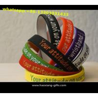 Cheap custom logo size design cheap promotional items china personalized Silicone Wristband wholesale