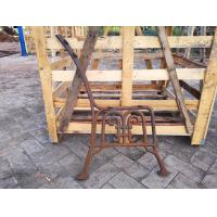 Park Furniture Cast Iron Bench Ends Durable For Garden Decoration