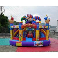 Buy cheap Circus World Jumper Bounce House 5x5x4.1 Meter 1 Year Warranty from wholesalers