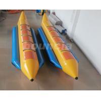 China 0.9mm Durable PVC Tarpaulin Inflatable Banana Boat For 5 Persons on sale