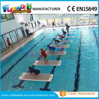 Cheap DWF Material Customized Water Toys Inflatable Water Floats Yoga Exercise Mats wholesale