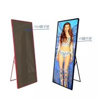 Cheap Indoor Custom LED Display P2.5 P3 Full Color Poster Screen 1500 Nits Brightness wholesale