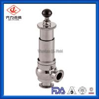 Cheap Food Grade Sanitary Pressure Relief Valve Safety One Way Flow Direction wholesale