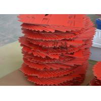 China Unsaturated Polyester Laminate Red Upgm 203 Sheet High Tensile Strength on sale