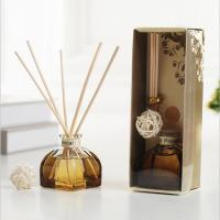 Cheap Decorative Home Reed Diffuser Natural Essential Oil Aroma Glass Bottle Reed Diffuser wholesale