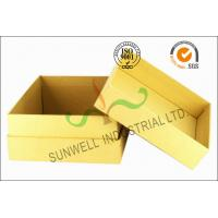 Cheap Kraft Paper Custom Printed Corrugated Boxes For Beauty Product Packaging wholesale