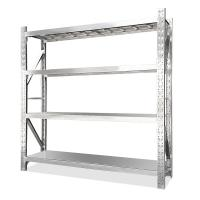 Cheap Middle Duty Stainless Steel Shelving Racks For Restaurant Kitchen 200kg Per Layer wholesale