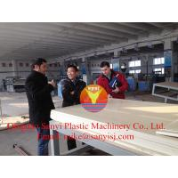 Cheap 2015 New Design PVC Foam Board Production Line/New PVC Foam Board for Construction wholesale
