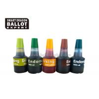 Buy cheap Voting Quick Drying Self Inking Stamp Pad Ink / 40ml waterproof stamp ink Non - Toxic from wholesalers