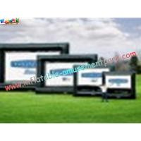 Cheap OEM Outside Wide Inflatable Movie Screen projection Display, Outdoor Large Screen wholesale