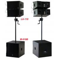 Buy cheap 380W Line Array Speaker , With 2x1
