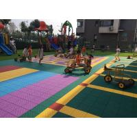 Colorful Customized Removable Kindergarten Flooring Shock Absorber Green