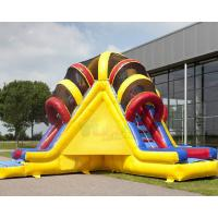 Buy cheap Bright Colors Commercial Inflatable Slide Climbing Slipping Games OEM from wholesalers