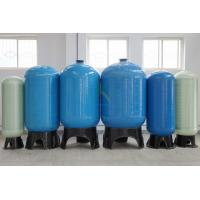 RO FRP Sealed Reverse Osmosis Water Storage Tank 0.25M3 - 200M3 With Blue /